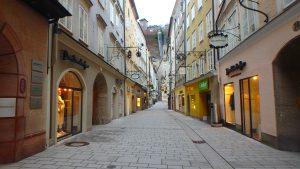 ザルツブルグおすすめ観光 ゲトライデストリート