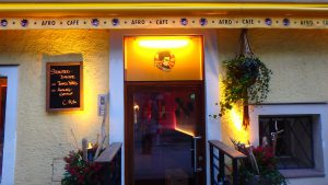 ザルツブルグの人気カフェ アフロカフェ