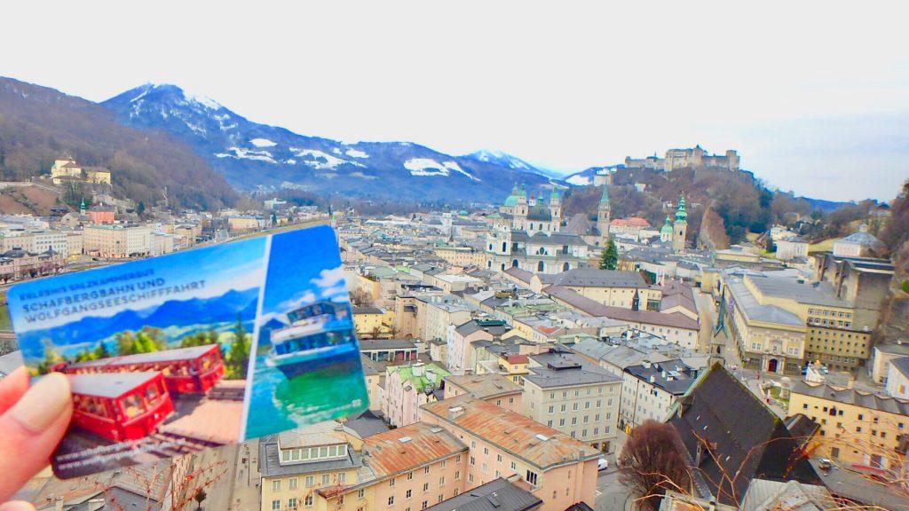 ミュンヘン近郊の観光 オーストリアのザルツブルク