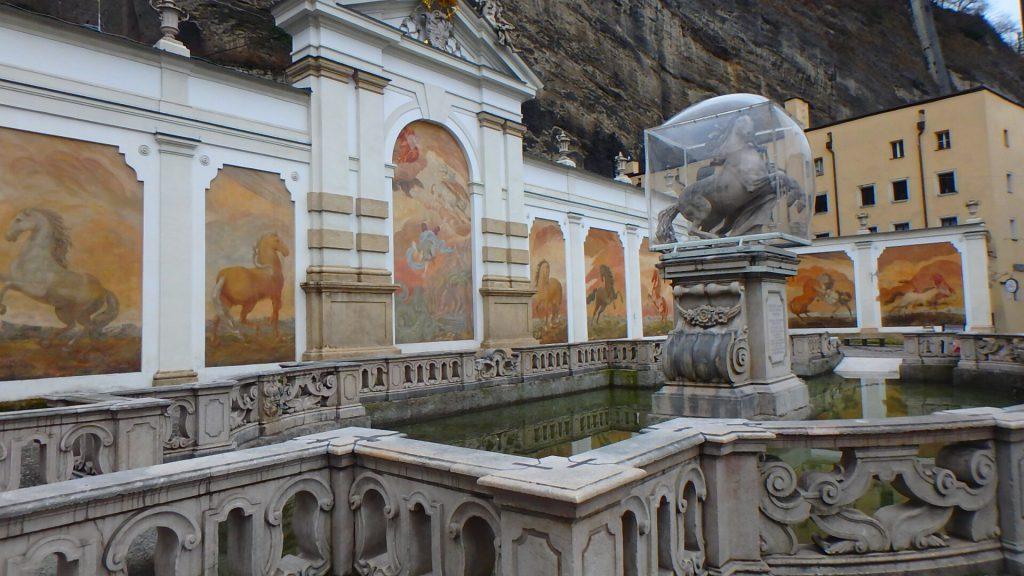 オーストリア 馬の洗い場 ザルツブルグ祝祭劇場