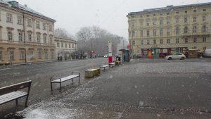 雪の日のザルツブルグ観光