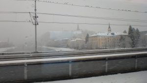 真冬のザルツブルグ旅行