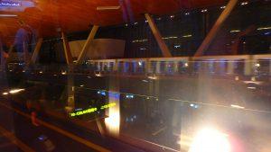 ドーハ ハマド国際空港内の電車
