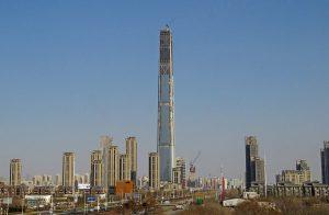 世界一高い展望台 中国・天津 Goldin Finance 117