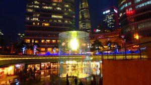 リッツカールトン上海 浦東の入り口 上海国金中心商場(ifc Mall
