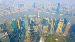 上海のおすすめ観光 超高層ビルの展望台 上海ヒルズ