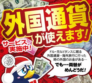 日本国内で外貨が使えるお店 ドン・キホーテ