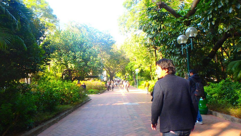 香港旅行 尖沙咀から九龍へ徒歩でお散歩