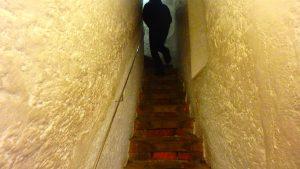 ミュンヘン 聖ペーター教会 展望台の入り口が狭い