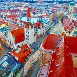 ミュンヘンを一望できる絶景展望台とおすすめグルメ。〜観光名所&モデルコース