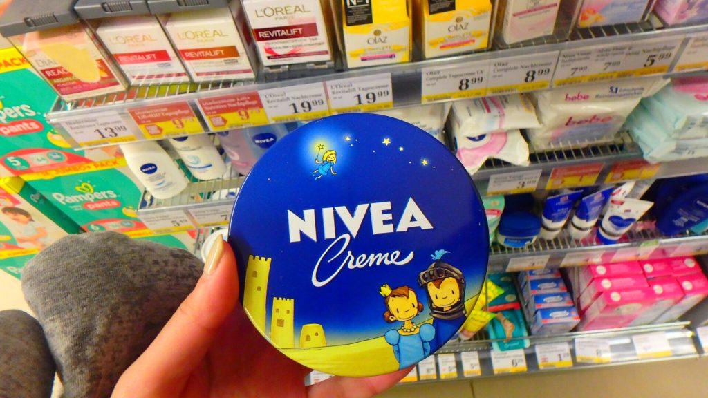 ザルツブルクのスーパー NIVEA コスメ