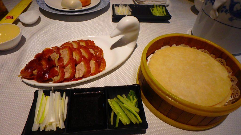 今まで食べた中で一番美味しかった北京ダック 中国・上海