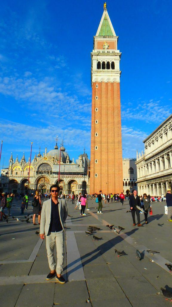 海外旅行の服装 イタリア ベネチア 男性
