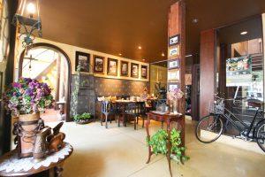 バンコクのお洒落なカフェ Old Capital Bike Inn