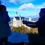 ノイシュヴァンシュタイン城でのプロポーズ。海外旅行でのサプライズ