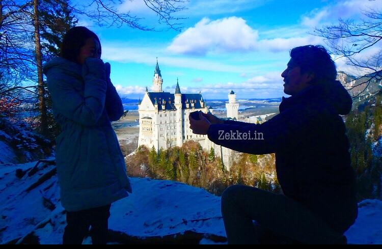 海外でのプロポーズ ドイツ ノイシュヴァンシュタイン城