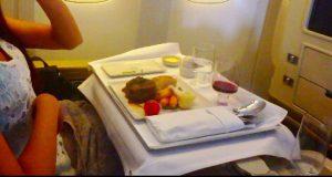 シンガポール航空の機内食が美味しい ビジネスクラス