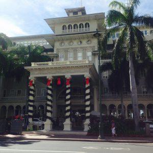 ハワイのクリスマス カラカウアストリート おすすめの時期