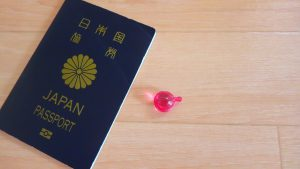 女子の海外旅行の持ち物 ヘアトリートメント ミニサイズ