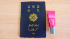 女子の海外旅行の持ち物 メイクグッズ 化粧品