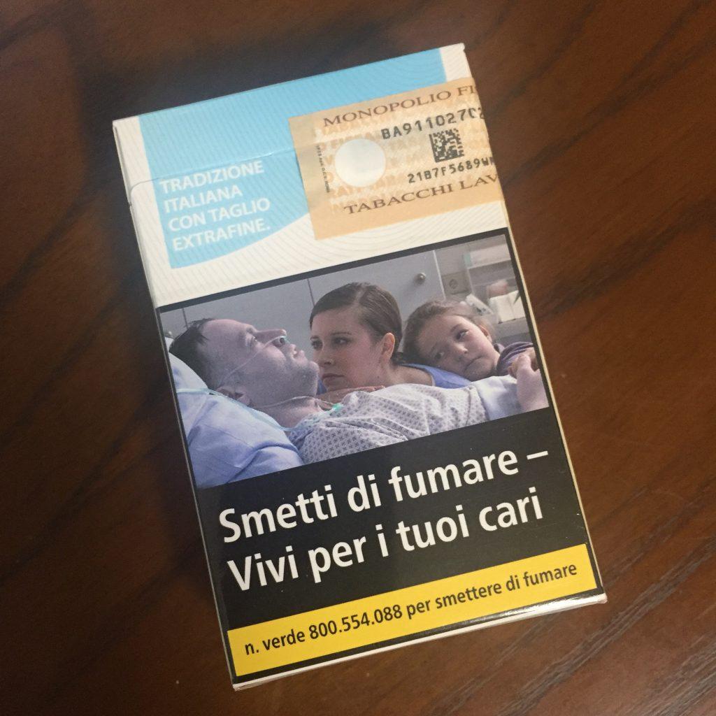 男性におすすめのイタリアのお土産 タバコ