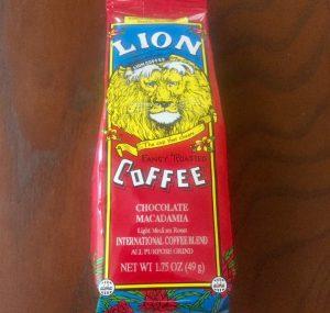 ハワイのおすすめお土産 LIONのチョコマカダミアコーヒー