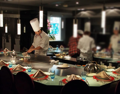 台湾(台北)の美味しい鉄板焼き屋さん ステーキ