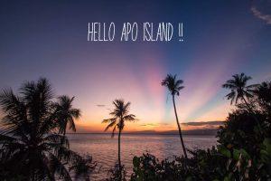 フィリピンのアポ島がおすすめ 旅行記ブログ