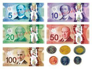 カナダの通貨 チップの平均相場・払い方