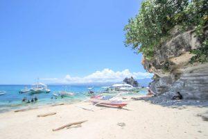 フィリピン セブ島でアイランドホッピング