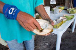 フィリピン旅行で現地人にココナッツジュースをご馳走になる