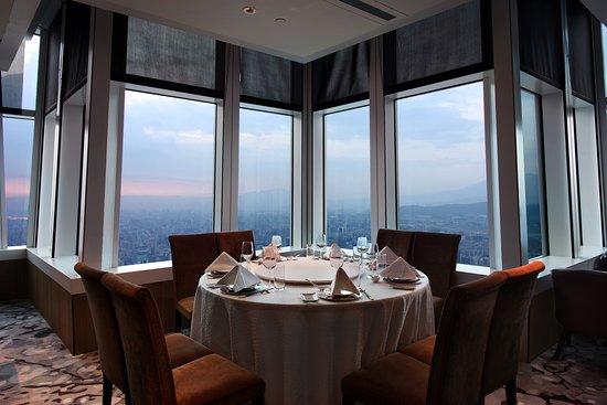 台北の高級レストラン 高層階の絶景 欣葉101食芸軒