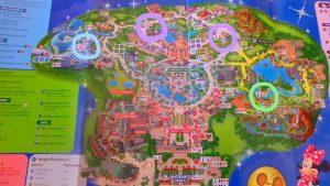 上海ディズニー ゲストサービスの場所 ファストパス