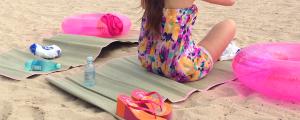 女子のハワイ旅行の持ち物 いらない物 ビーチマット