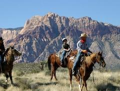 アメリカ ラスベガス レッドロックキャニオンで乗馬