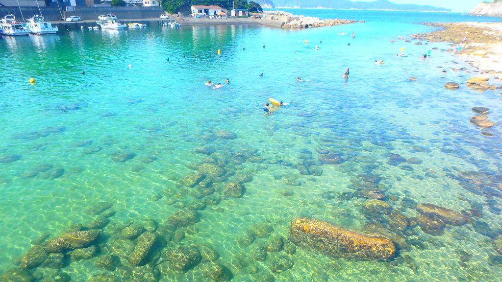 高知県で一番綺麗なビーチ 柏島