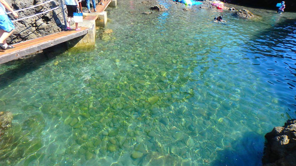 東京から日帰りで行ける綺麗な海 ヒリゾ浜