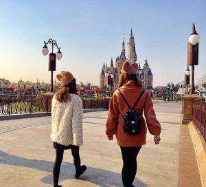 女子旅 上海旅行での服装