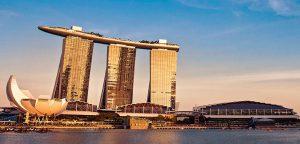 秋の海外旅行 シンガポール マリーナベイサンズ