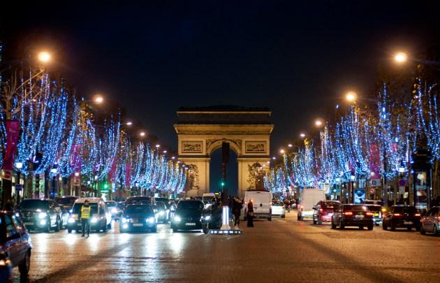 フランス パリのクリスマス