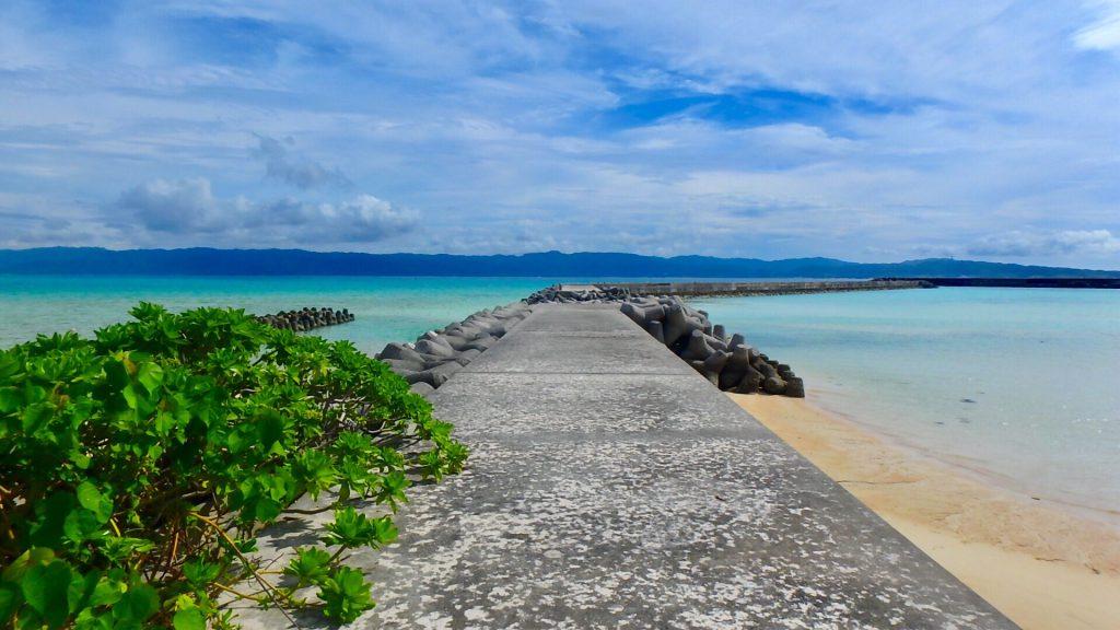 鳩間島の海が綺麗