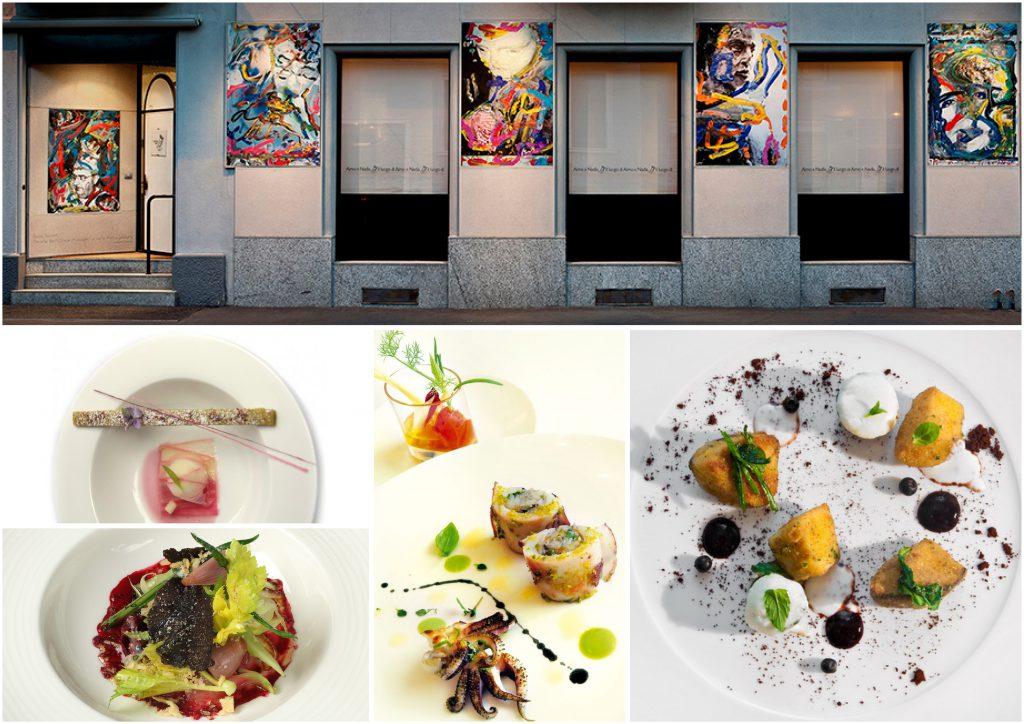 ミラノのミシュラン二つ星レストラン Il Luogo di Aimo e Nadia