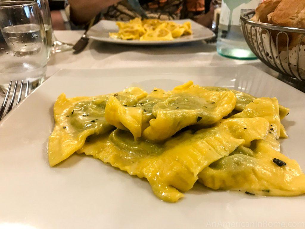 ローマで一番パスタが美味しいレストラン