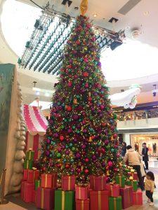 クリスマスの香港旅行記 イルミネーション