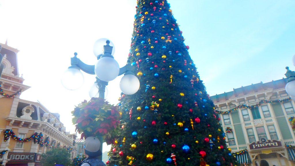 クリスマスの香港ディズニーランド