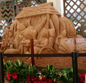 シェラトンワイキキ 砂のオブジェ クリスマス