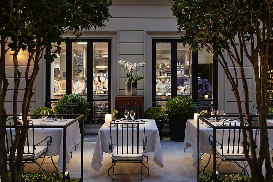ミラノの高級レストラン ミシュラン二つ星 Seta