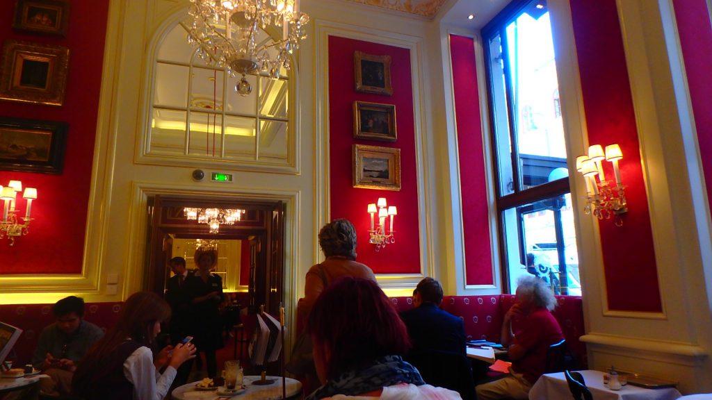 ウィーン カフェザッハー 旅行記ブログ