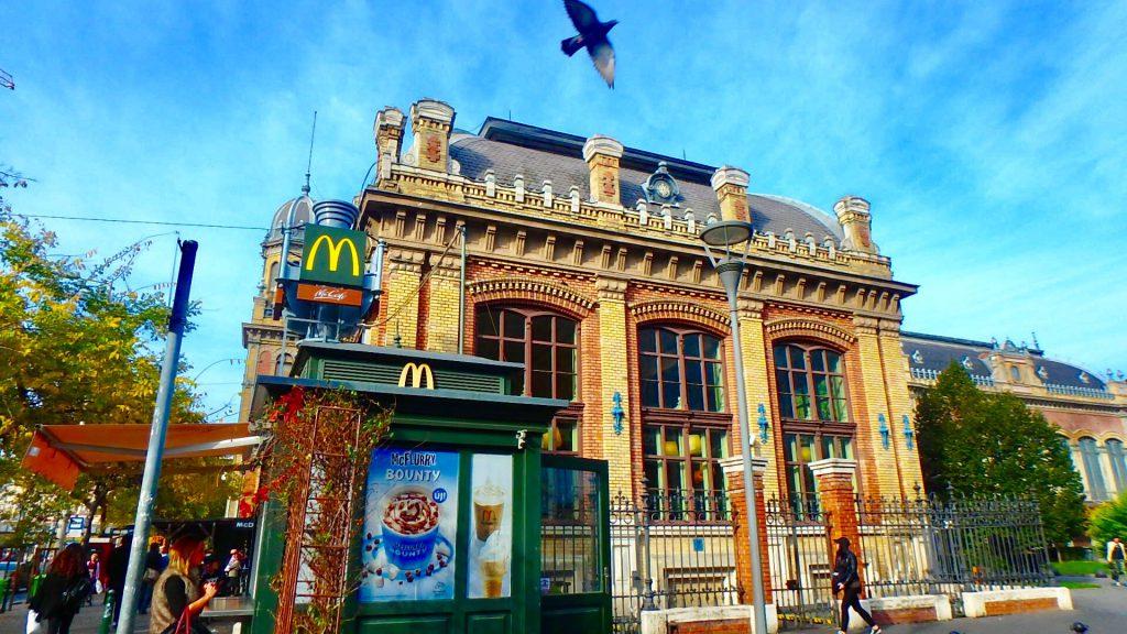 世界一綺麗なマック ハンガリー ブダペスト