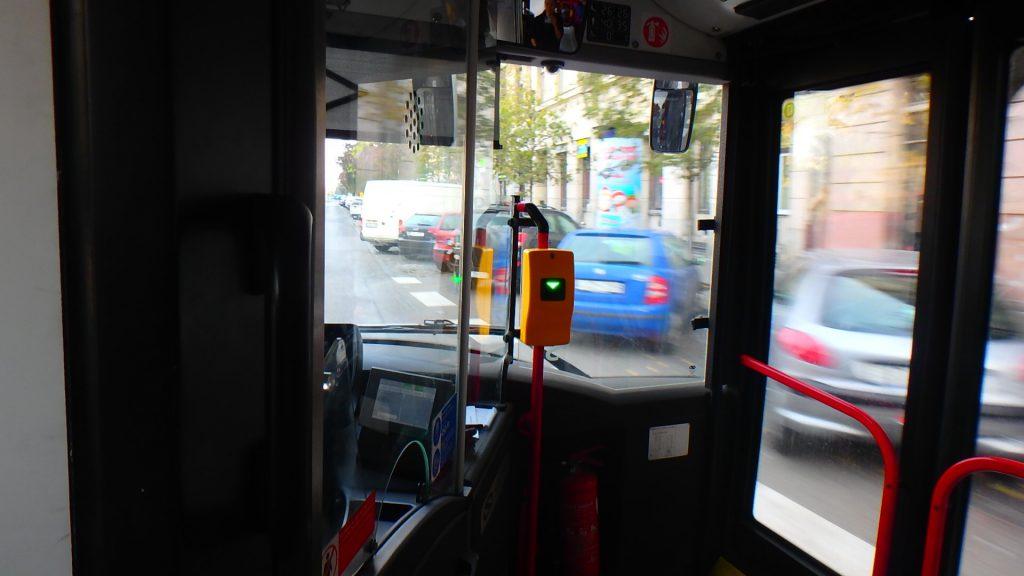 ハンガリー ブダペストのバス